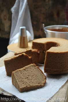 爱厨房的幸福之味: 榛果酱戚风蛋糕 Nutella Chiffon Cake