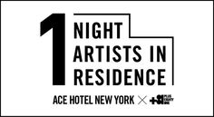 +81 1 NIGHT ARTISTS IN RESIDENCE