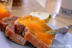 Apfel-Kürbis-Marmelade und Federweißerbrot