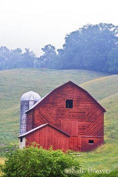 Red Barn, Burnesville, NC