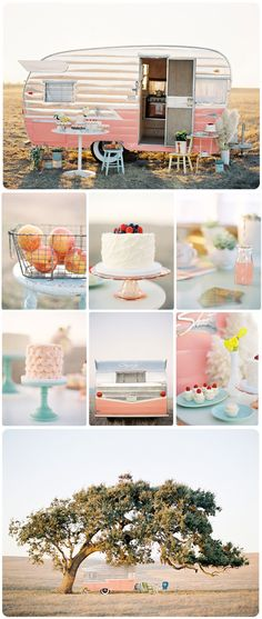 Wouldn't it be totally rad to have the Enjoy Cupcakes trailer at your wedding?