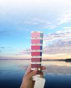 Designer Perfectly Matches Pantone Color Swatches with Real-Life Landscapes