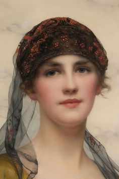Portrait of a Beauty, 1918  by William Clarke Wontner (British, 1857-1930)