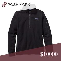 LOOKING 4! Patagonia better sweater half zip Looking for the half zip black size small or med!! Patagonia Sweaters