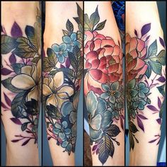 224 Most Attractive Flower Tattoos Of All Time nice  Check more at http://fabulousdesign.net/flower-tattoos/