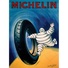 Vintage Michelin Ad #michelin #tyres #car #auto #motor #poster #ad #advertising #vintage #illustration
