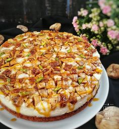 A delicious cake that will taste on your palate! Caramel cake with figs - Cake Pasta Cake, Fig Cake, Happy Kitchen, Mini Cheesecakes, Turkish Recipes, Kitchen Recipes, Popular Recipes, Yummy Cakes, Sweet Recipes