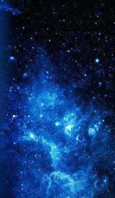 Dark Blue Wallpaper, Cute Galaxy Wallpaper, Blue Wallpaper Iphone, Night Sky Wallpaper, Wallpaper Space, Blue Wallpapers, Pretty Wallpapers, Wallpaper Backgrounds, Phone Wallpapers