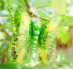 How to Make Beautiful Bead Butterfly from Plastic Bottle | www.FabArtDIY.com LIKE Us on Facebook ==> https://www.facebook.com/FabArtDIY
