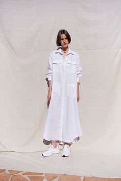 S White Linen Dresses, Carbon Offset, Daytime Dresses, Japanese Cotton, Laid Back Style, Margot Robbie, Celebrity Style, Product Launch