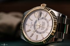 VIDEO: A closer look at the 2017 Rolex Sky-Dweller in Rolesor