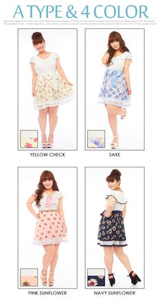 52d9b237b47c dreamv | Rakuten Global Market: 【BIG SIZE】Floral pattern or pastel check☆