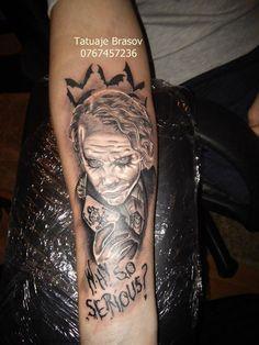 joker tattoo at tatuaje brasov 0767457236
