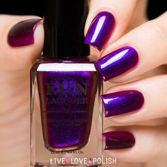 Fun Lacquer Cheers To The Holidays Nail Polish (PRE-ORDER | ORDER SHIP DATE: 11/17/15)
