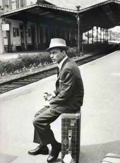 Frank. Waiting. Sinatra.