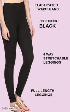 Leggings & Tights  Alluring Attractive Women's Legging Fabric: 95%COTTON  5% LYCRA Size: XL - Waist - Up To 22 in To 28 in Length - Up to 42 in XXL - Waist - Up To 25 in To 30 in Length - Up To 44 in Type: Stitched Description:  It Has 1 Pieces Of Women's Leggings  Colour: Black Pattern: Solid Country of Origin: India Sizes Available: XL, XXL   Catalog Rating: ★4.1 (481)  Catalog Name: Siya Alluring Attractive Women's Leggings Vol 18 CatalogID_603678 C79-SC1035 Code: 262-4222851-675