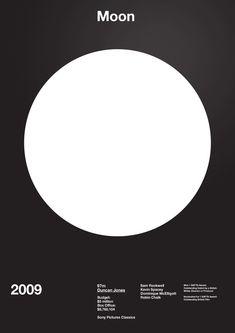 Moon Film Poster - A.N.D Studio Film Legacy Exhibition