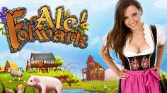 Ale Folwark (Lets Farm) Construir el Taller Artesano egipcio, donde se producen los fans de hojas de palma, vajilla, loza y un collar del Faraón