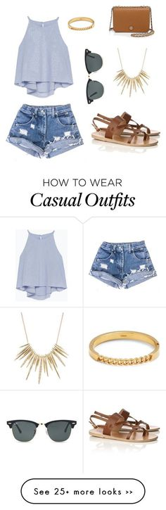 """Casual"" by josholson on Polyvore https://twitter.com/tefmingsmign/status/903138249568264192"