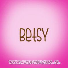 Betsy (Voor meer inspiratie, en unieke geboortekaartjes kijk op www.heyboyheygirl.nl)