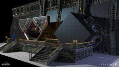 ArtStation - Destiny: Bunker RAS-2, Dorje Bellbrook