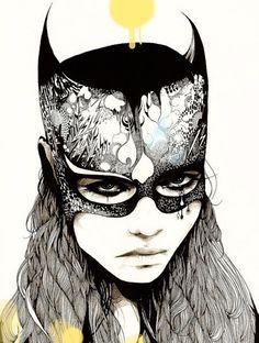 Girl2, David Bray's pencil drawings
