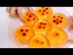 How to make edible DRAGON BALL Raindrop Cake Jelly - YouTube