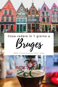 Romantica, magica, colorata #Bruges. Forse anche un po' piovosa, soprattutto se, come noi, la visitate a inizio marzo. Ciò non toglie che Bruges sia il luogo perfetto dove perdersi. Vicoli, carrozze, cioccolaterie, birrerie… ogni angolino saprà stupirvi e conquistarvi. Pronti a scoprirla? #belgio #brugge #fiandre #itinerario #belgium #travel #viaggi #viaggio #viaggiare #citybreak Travel Guides, Travel Tips, Travel Around The World, Around The Worlds, Bruges, Travel Inspiration, Traveling By Yourself, Travel Destinations, Places To Go