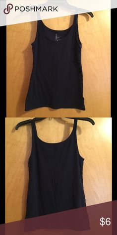 Navy GAP Cami Gently used navy cami. Reasonable offers are welcomed on individual items or bundles. 🚫No low balling. 🚫No trades. Please let me know if you have ANY questions. Make sure you check out my entire closet and take advantage of my bundle discount offer (see listing in my closet for details on how to redeem)! Happy Poshing! 🛍 GAP Tops Camisoles