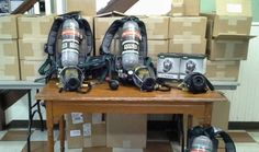 State-of-the-art, nationally approved self-contained breathing apparatus has been purchased by the Sanatoga Fire Company to keep its volunteers safe in hazardous smoke- and fume-filled situations.