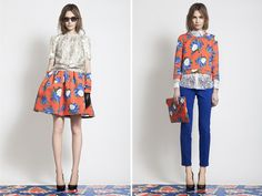 "Looks from MSGM Pre-Fall 2012, quite a few awesome looks in this post by ""Honestly...WFT"""