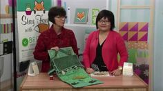 A Flair for Fabric - Linda Lum DeBono with Leanne Anderson - Quilt Caddy