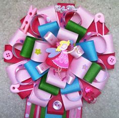 Little fairy baby shower corsage on Etsy, $20.00