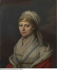 Weygandt, Sebastian Invent 1875/1641 um1820, Porträt Wilhelmine Luise Christiane von Hessen-Philippsthal-Barchfeld Bild1