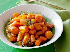 Orange-Glazed Carrots recipe from Food Network Kitchen via Food Network
