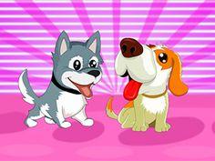 لعبة اطعام الكلاب الصغيرة الجميلة لعبة حلوة من العاب اطفال  Kids Games الرائعة جداً علي العاب فلاش ميزو