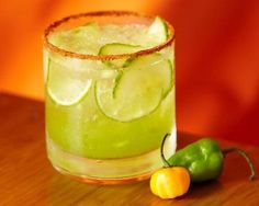 Habanero and Cucumber Margarita Recipe - perfect for Cinco de Mayo!