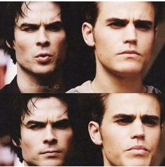 #TVD The Vampire Diaries  Damon & Stefan