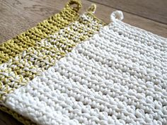 Ravelry: Simple cloth pattern by Maria Valles