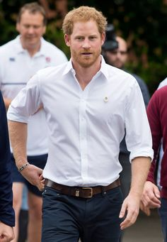 Prince Harry proves that this color-of-the-moment isn't just for the ladies.
