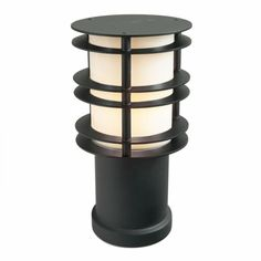 Small 230 volt classic bollard in black powder coated steel with polycarbonate lens – free delivery from Peter Reid Lighting. Outdoor Path Lighting, Bollard Lighting, Lamp Bulb, Powder Coating, Stockholm, Galvanized Steel, Wood And Metal, Art Deco Fashion, Lens