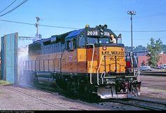 RailPictures.Net Photo: MILW 2038 Milwaukee Road EMD GP40 at Saint Paul, Minnesota by Bill Edgar