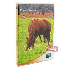 DVD Como Alimentar Cavalos c/ Manual Técnico: Casa e Lazer