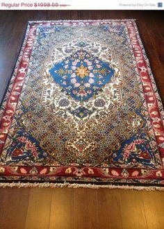 Item 2202,  Awesome Persian Bakhtiar Rug, 6'8 x 4'2