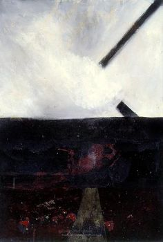 A landscape - Fragments of a cross, 1959 Colin McCahon Art Pictures, Museums, Art History, New Zealand, Feels, Around The Worlds, Graphic Design, Artists, Landscape