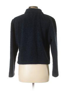 Paris Sport Club Coat: Size 8.00 Navy Blue Women's Jackets & Outerwear - $18.99
