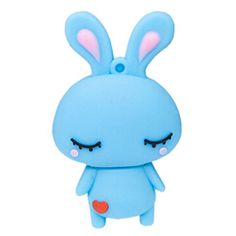 Introducing Cute Rabbit USB 20 Flash Drive Memory Stick SD Card Memory Disk 32GB Blue. Great product and follow us for more updates!