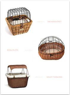 Dog Bicycle Baskets | Pretty Fluffy