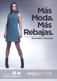 Ya están aquí las primeras Rebajas 2014. En el Centro Comercial Meridiano tenemos más moda... más rebajas ;)