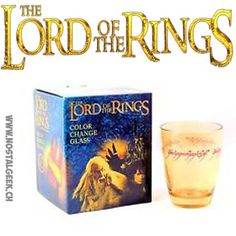 Cuisine Lord of the Rings Limited Edition Color Change glass geek ...